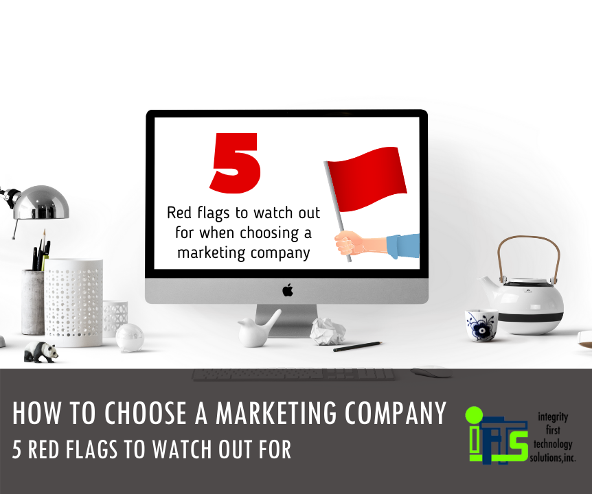marketing company red flags
