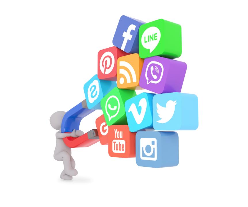 Social media attracting customers